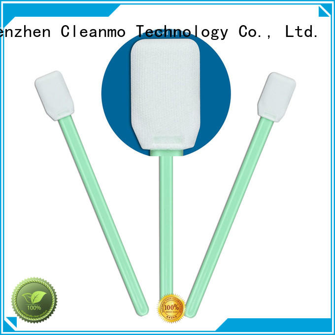 Cleanmo ESD-safe microfiber swabs manufacturer for Micro-mechanical cleaning