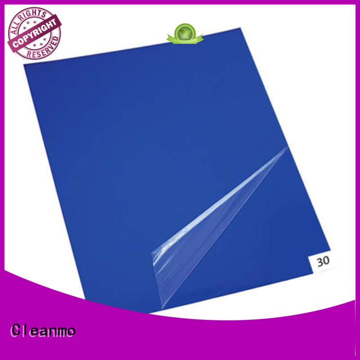 cleanroom tacky mat cleanroom adhesive mat Cleanmo Brand sticky mat