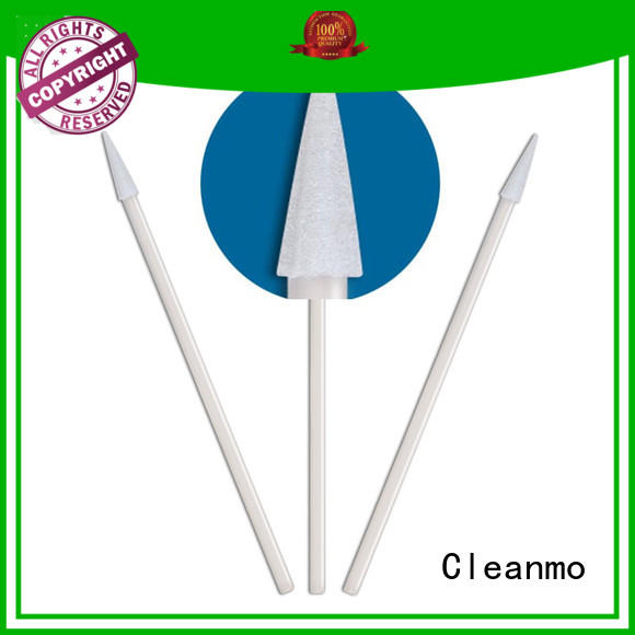 high quality alcohol swabs precision tip head supplier for excess materials cleaning