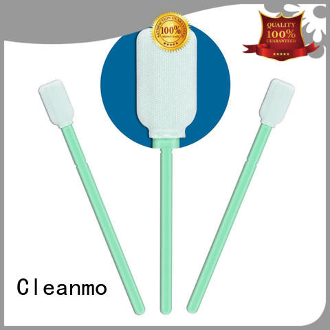 Cleanmo excellent chemical resistance swab applicator supplier for Micro-mechanical cleaning