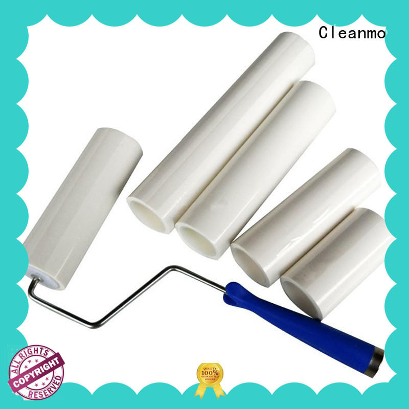 Cleanmo safe material evercare lint roller factory for cleaning