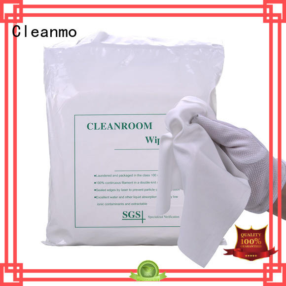 Cleanmo polyester Polyester wipe for Industrial manufacturer for medical device products