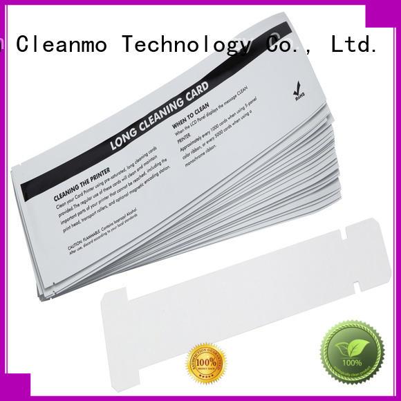 Cleanmo safe zebra cleaners manufacturer for Zebra P120i printer