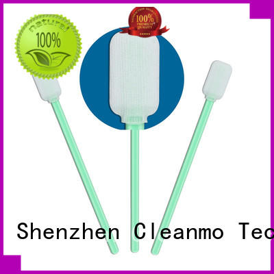Cleanmo safe material dacron swabs supplier for general purpose cleaning
