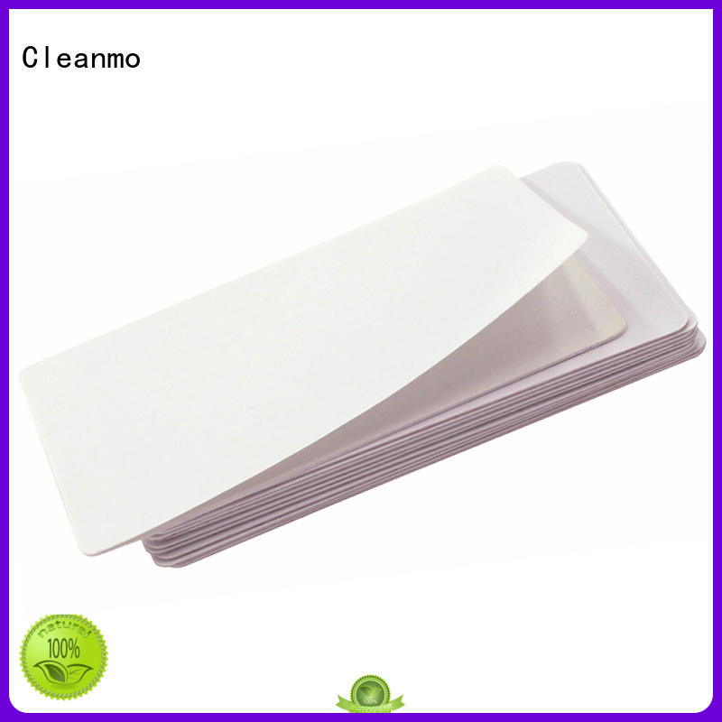 Cleanmo high tack pressure sensitive adhesive Dai Nippon IPA Cleaning Cards supplier for DNP CX-210, CX-320 & CX-330 Printers