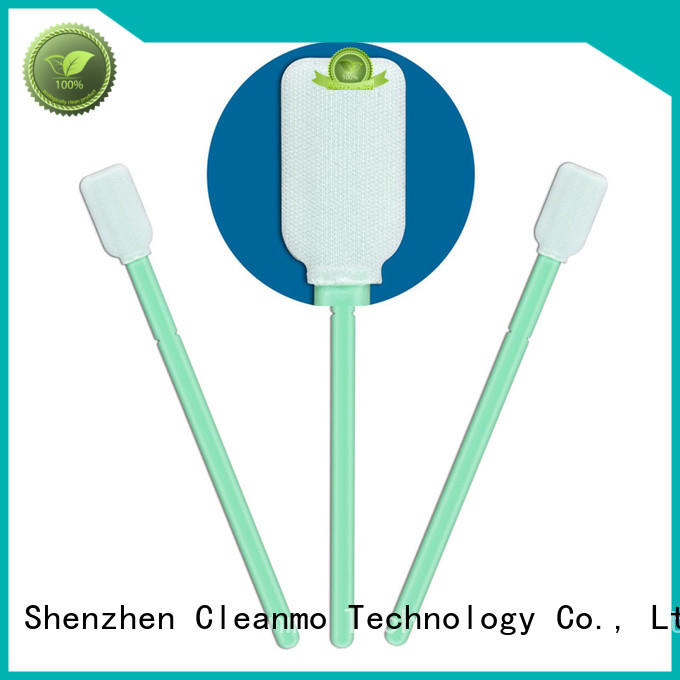 Cleanmo ESD-safe cleanroom q tips supplier for Micro-mechanical cleaning