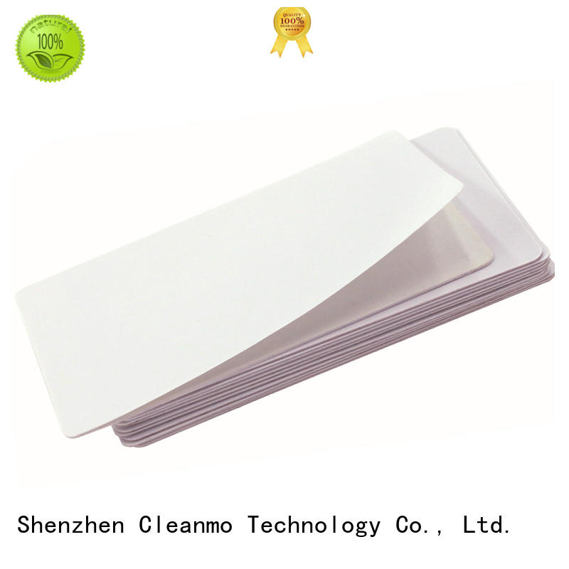 Cleanmo PVC Dai Nippon Printer Cleaning Cards manufacturer for DNP CX-210, CX-320 & CX-330 Printers
