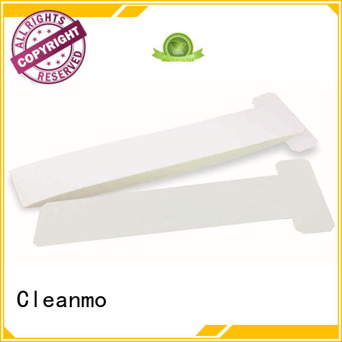 Cleanmo blending spunlace zebra cleaning card factory for cleaning dirt