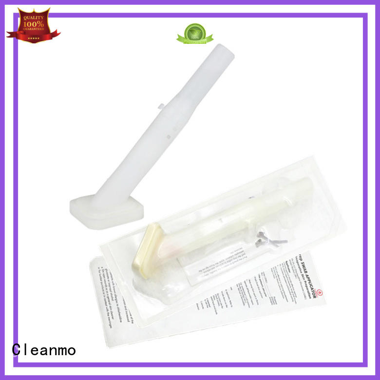 Medical Sterilized applicator long plastic handle with 2% chlorhexidine gluconate for biopsies Cleanmo