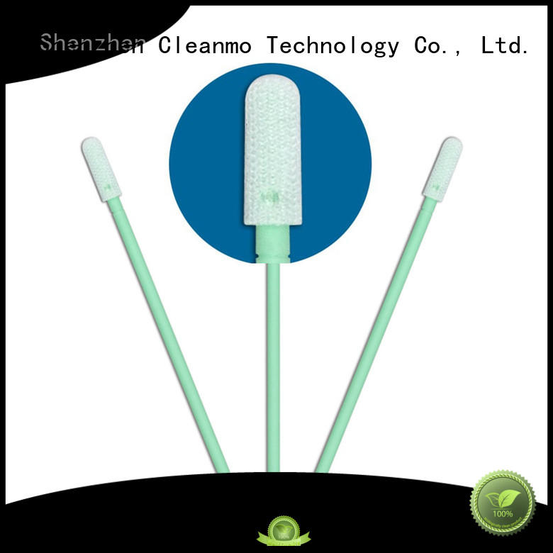 Cleanmo compatible esd swabs manufacturer for general purpose cleaning