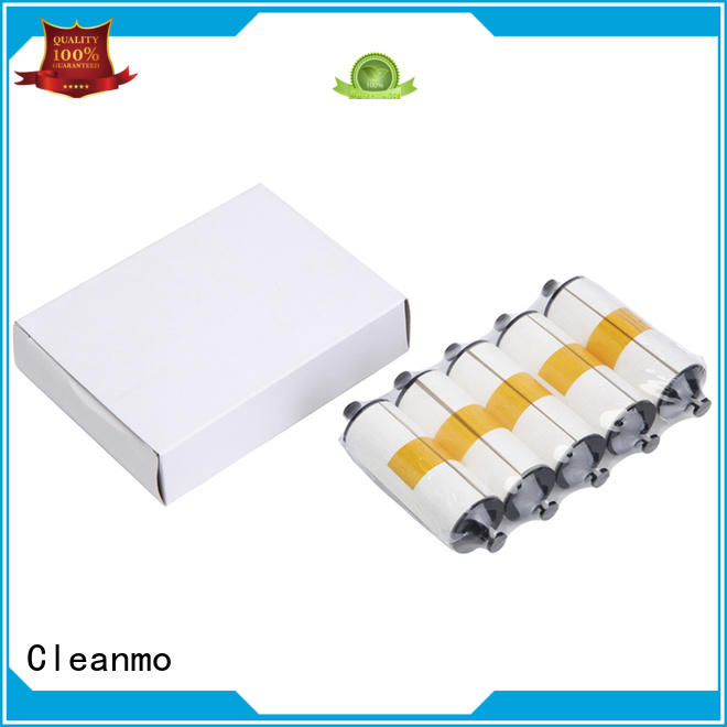 Cleanmo disposable zebra printer cleaning manufacturer for cleaning dirt
