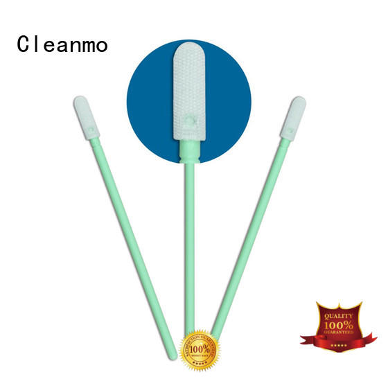 Hot cleanroom optic cleaning swabs cmps758bm Cleanmo Brand
