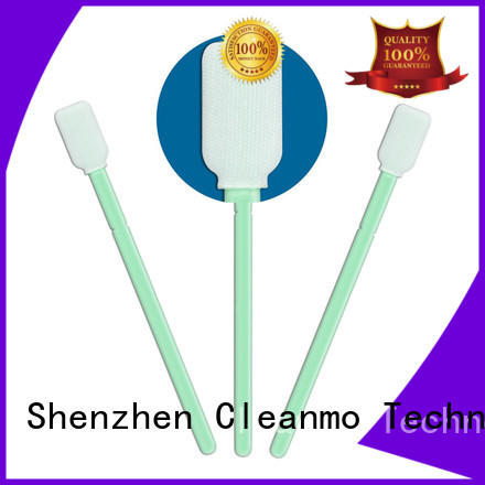Cleanmo safe material polyester swab factory for printers