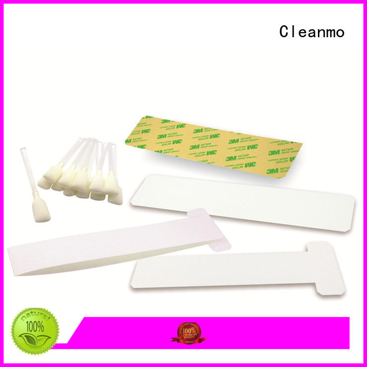 Cleanmo pvc zebra printhead cleaning supplier for cleaning dirt