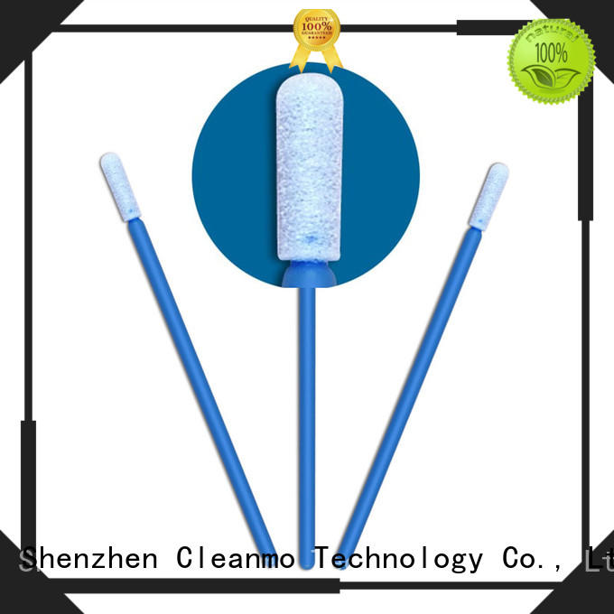 high quality cotton tips thermal bouded manufacturer for general purpose cleaning
