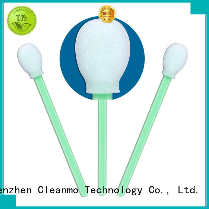 Cleanmo green handle long q tips manufacturer for Micro-mechanical cleaning