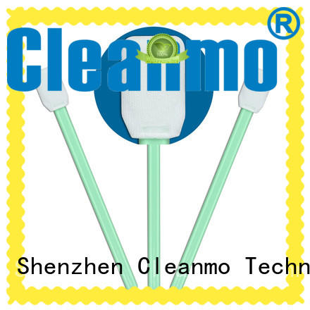 ESD-safe cleanroom q tips Polypropylene handle factory price for Micro-mechanical cleaning