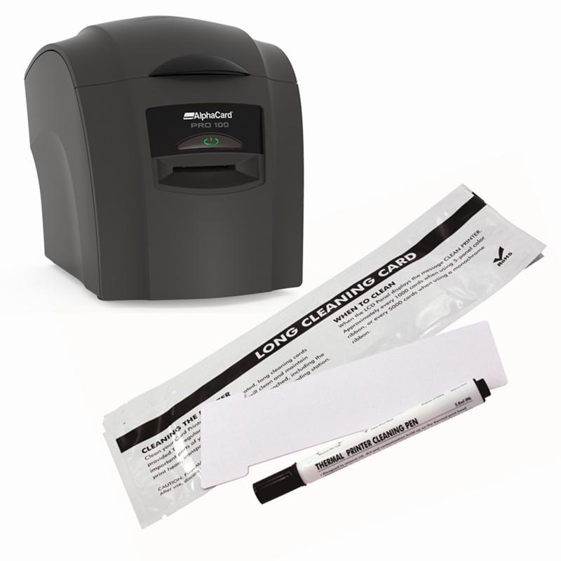 IDCK-PRO-100 Alphacard Cleaning Kit