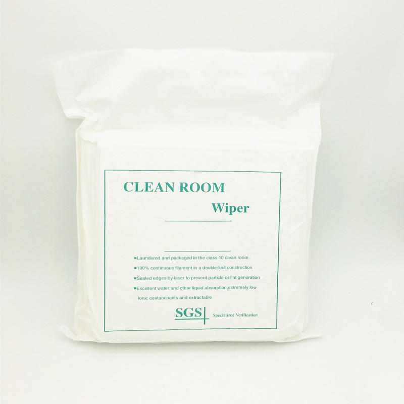 high quality polyester wipes non-abrasive texture supplier for Stainless Steel Surface
