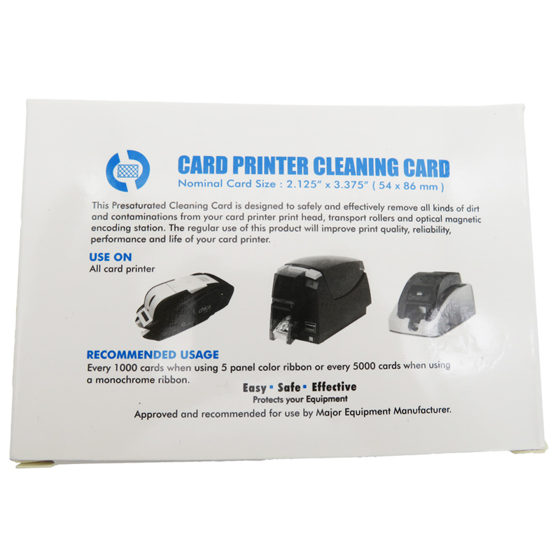 Cleanmo spunlace hotel door lock cleaning card wholesale for ATM machines-1