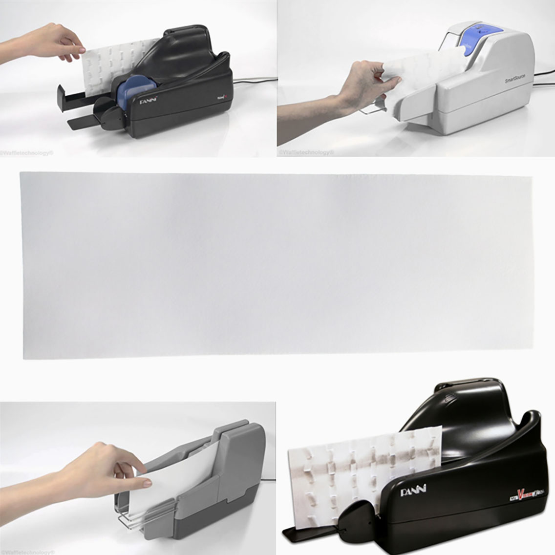 Cleanmo non woven fabric check reader cleaning card manufacturer for Digital Check TellerScan-6
