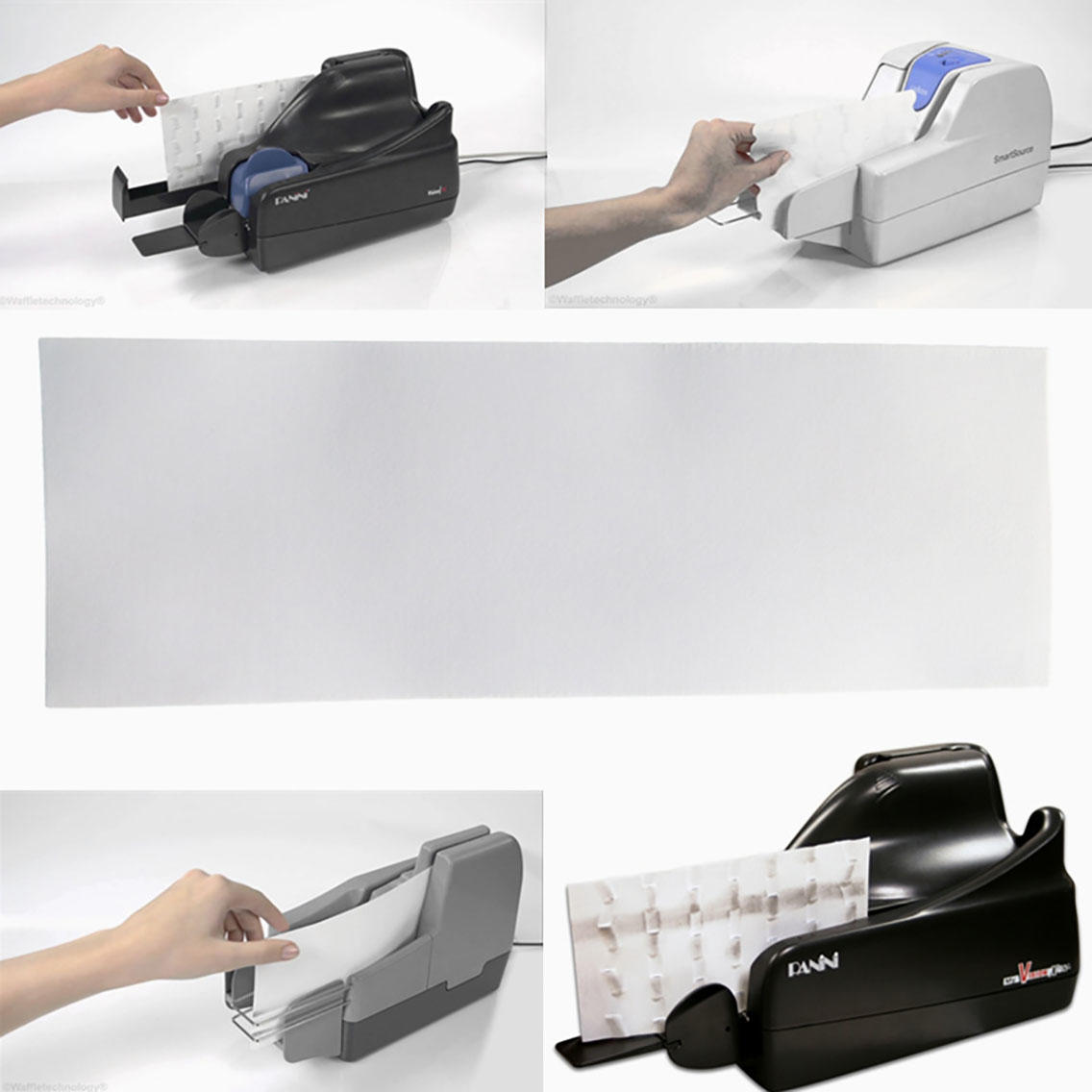Cleanmo non woven fabric check reader cleaning card manufacturer for Digital Check TellerScan