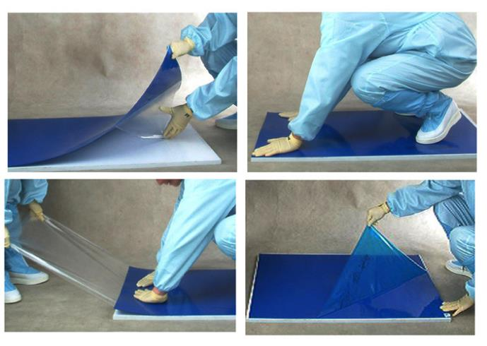 Cleanmo polystyrene film sheets cleanroom tacky mat supplier for hospitality industry-3