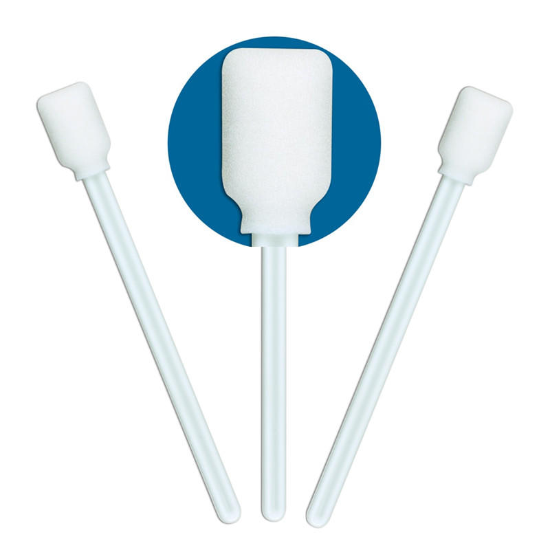 cost-effective oral mouth swabs ESD-safe Polypropylene handle wholesale for excess materials cleaning