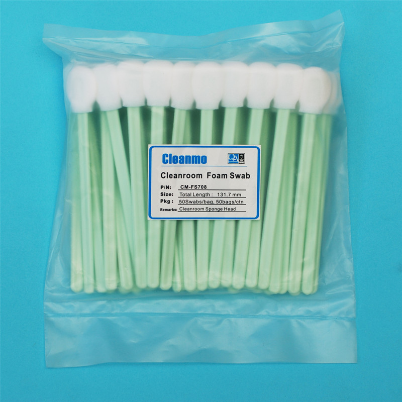ESD-safe reusable cotton buds Polyurethane Foam manufacturer for Micro-mechanical cleaning-5