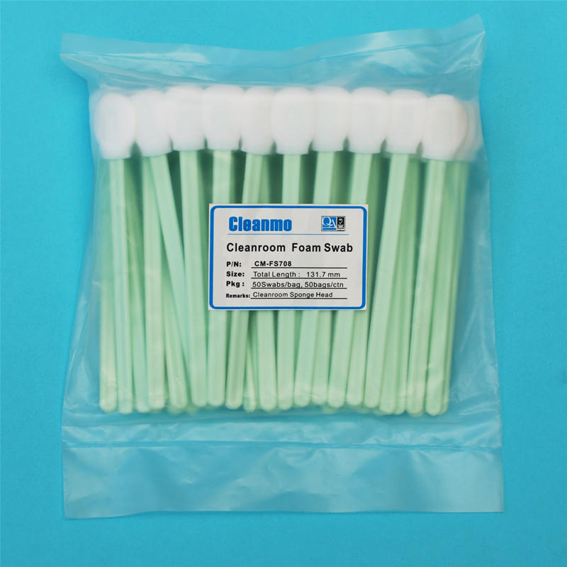 Cleanmo affordable large swabs factory price for Micro-mechanical cleaning