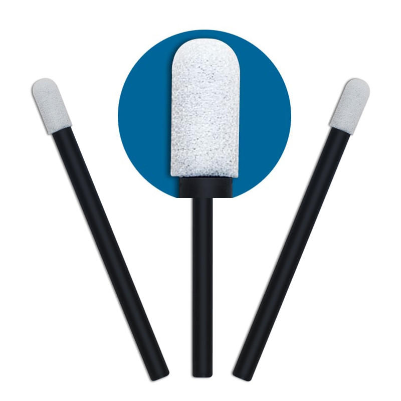 Cleanmo thermal bouded mouth sponges on a stick factory price for excess materials cleaning