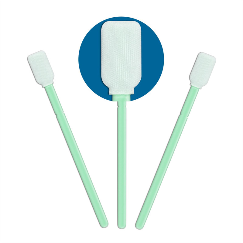 safe material polyester swab flexible paddle supplier for microscopes-1