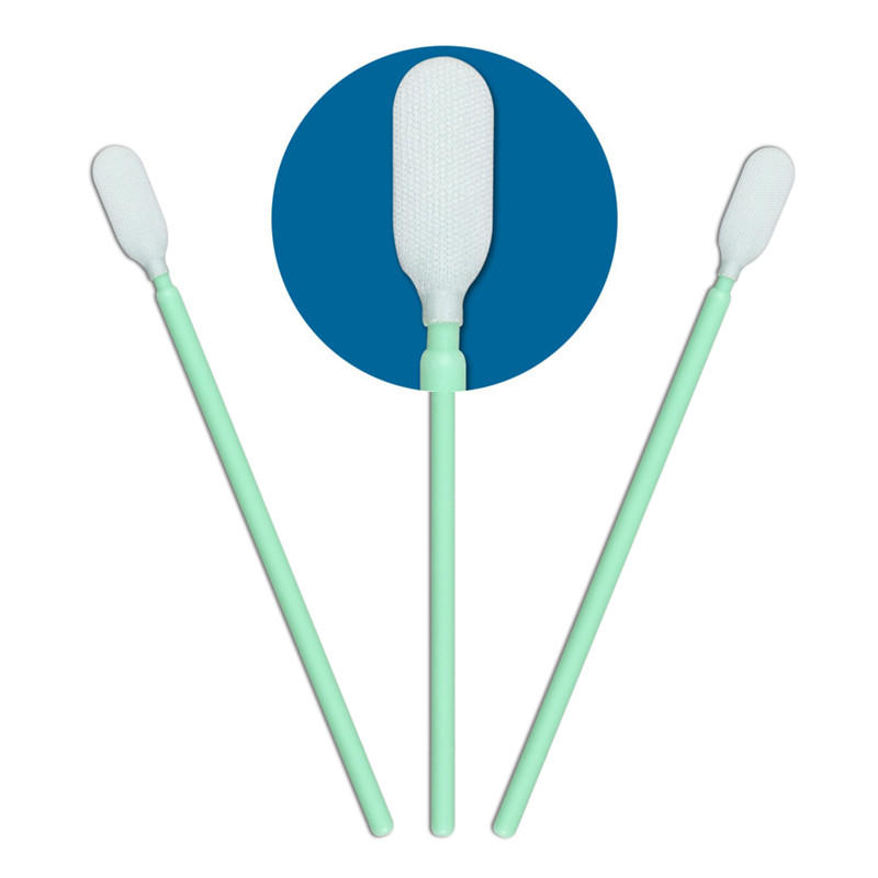 ESD-safe sensor swab full frame double layers of microfiber fabric wholesale for general purpose cleaning-2