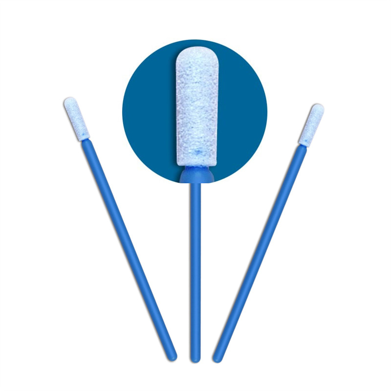 Cleanmo small ropund head charcoal swabs uses factory price for excess materials cleaning-1