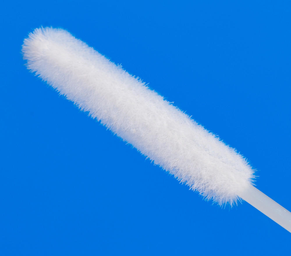 Cleanmo frosted tail of swab handle sample collection swabs factory for hospital