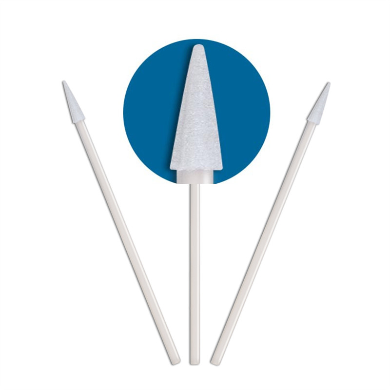 high quality flocked swab thermal bouded supplier for general purpose cleaning-2