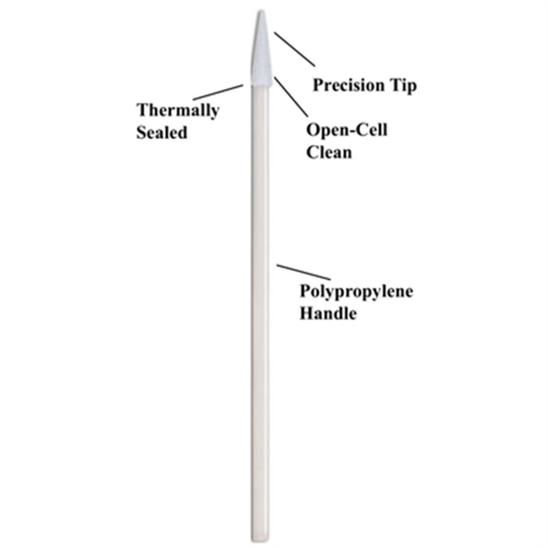 high quality flocked swab thermal bouded supplier for general purpose cleaning-3