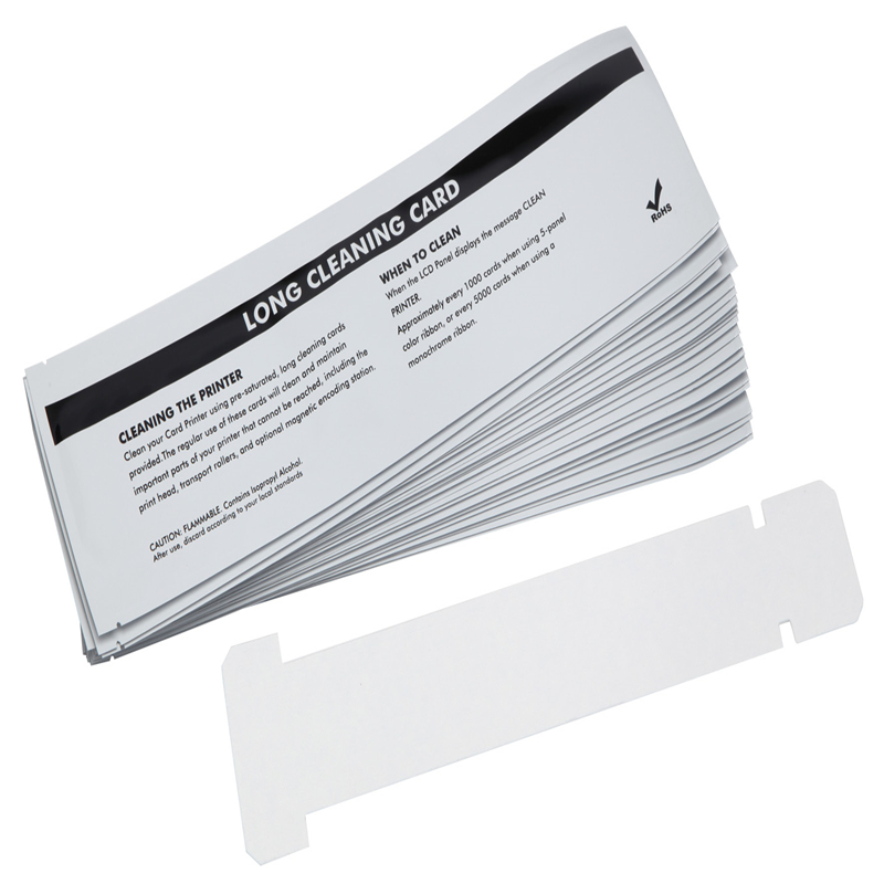 Cleanmo disposable zebra cleaning kit manufacturer for ID card printers-1