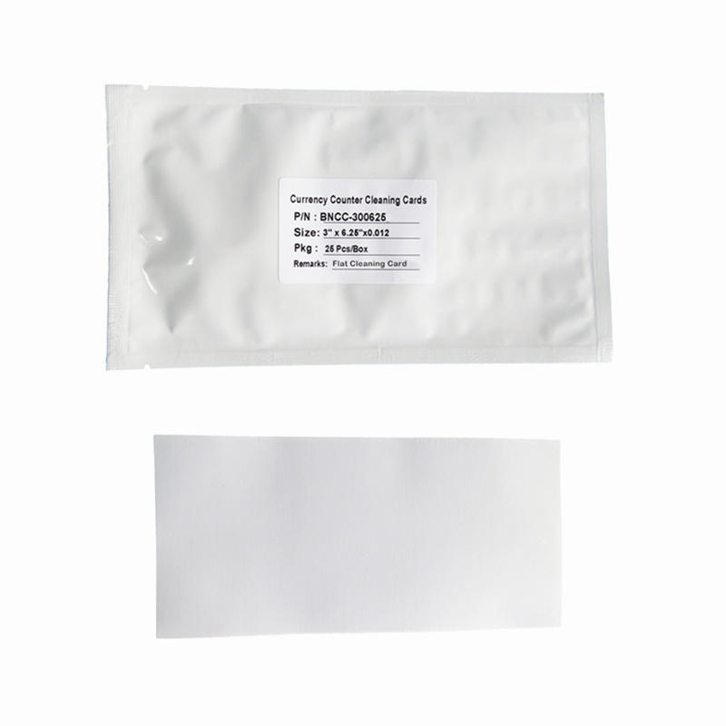 Currency Counter Flat Cleaning Cards