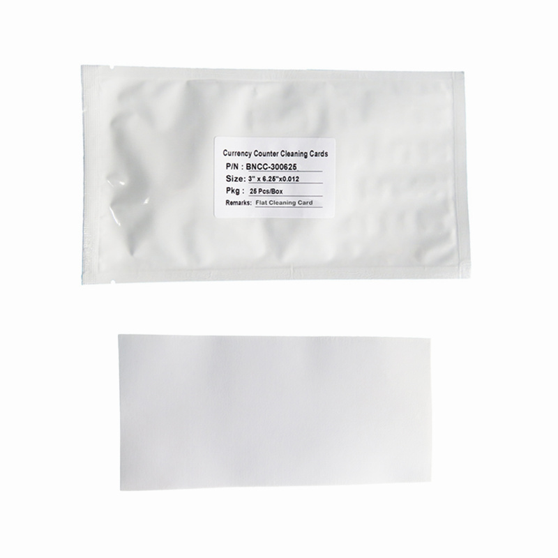 effective currency counter cleaning card Scrubbing supplier for Currency Counter-2
