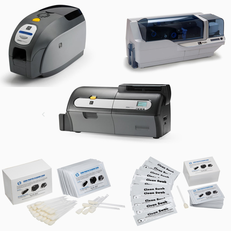 Cleanmo disposable zebra printer cleaning wholesale for Zebra P120i printer-5