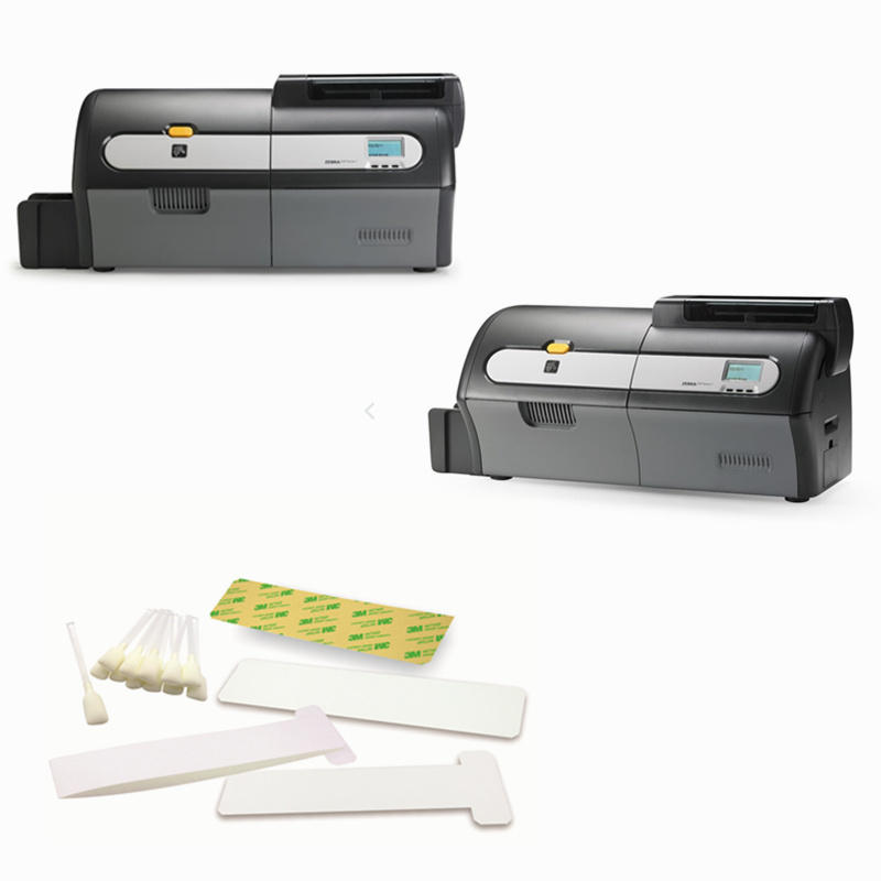 Cleanmo disposable zebra printhead cleaning manufacturer for ID card printers