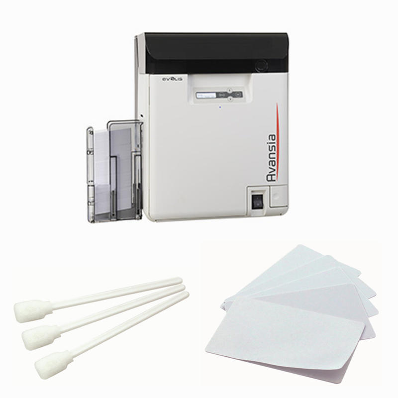 Cleanmo high quality evolis cleaning kits manufacturer for ID card printers