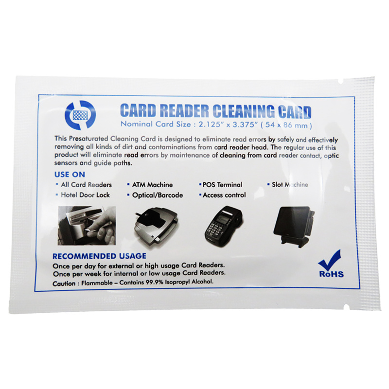 Cleanmo cost-effective laser printer cleaning kit factory price for Evolis printer-2