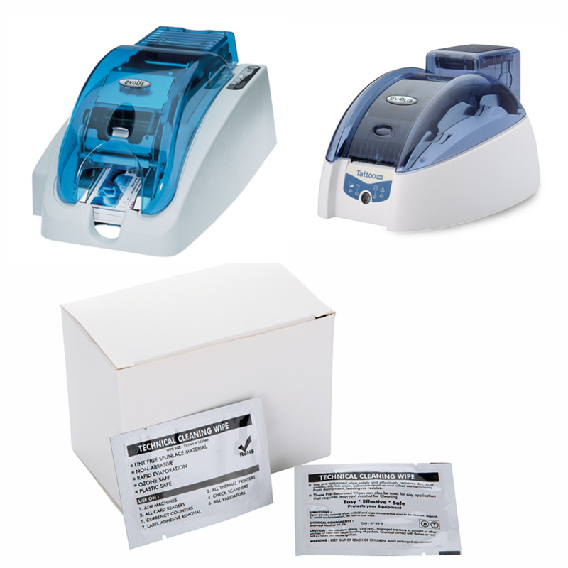 Cleanmo convenient evolis cleaning kits wholesale for ID card printers-5