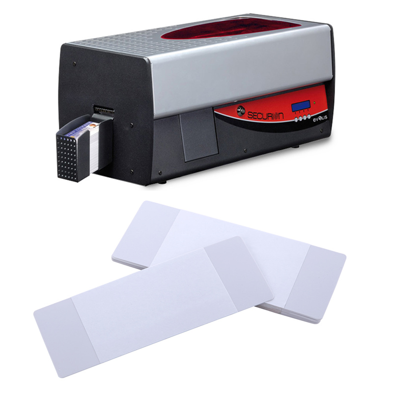 Cleanmo Hot-press compound Evolis Cleaning cards factory price for ID card printers-5