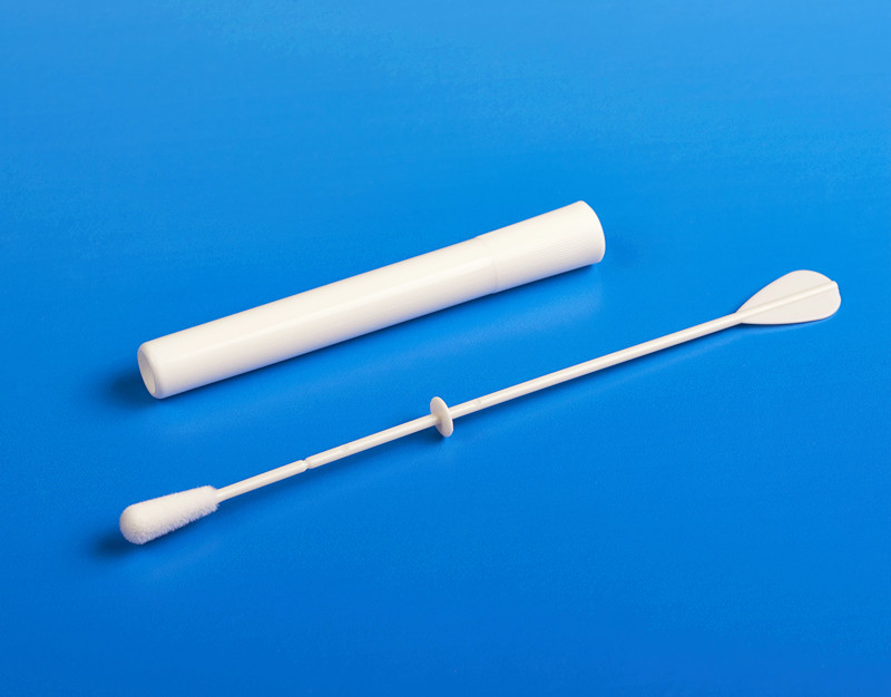 convenient sampling swabs molded break point supplier for rapid antigen testing-7