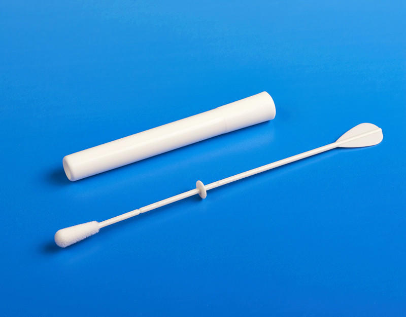 convenient sampling swabs molded break point supplier for rapid antigen testing