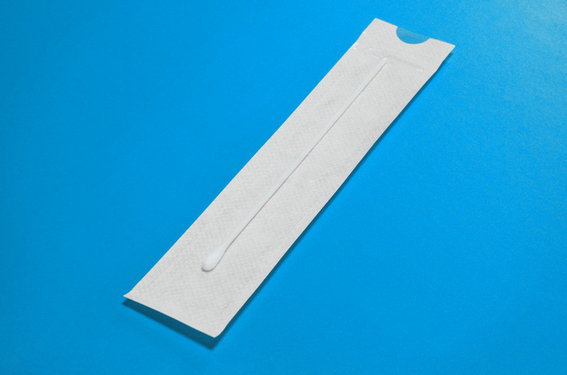 Cleanmo frosted tail of swab handle sampling swabs supplier for rapid antigen testing-3