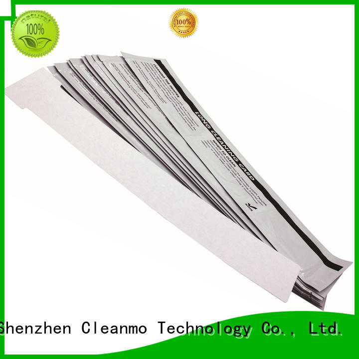 PVC lens cleaning swabs manufacturer for IDP SMART 30 Cleanmo